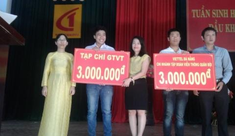 100 suất học bổng được trao tặng cho sinh viên trường Cao đẳng GTVT II