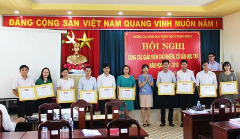 HỘI NGHỊ CÔNG TÁC GVCN-CVHT NĂM HỌC 2017-2018