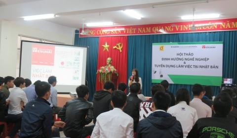 Hội thảo định hướng nghề nghiệp & tuyển dụng việc làm Nhật Bản