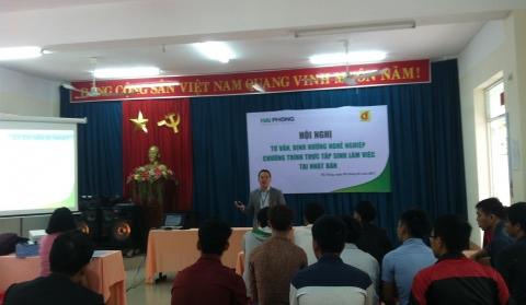 HỘI THẢO VIỆC LÀM NHẬT BẢN - CÔNG TY Hải Phong