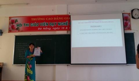 Hội thi giáo viên dạy nghề giỏi Trường Cao Đăng Giao Thông Vận Tải II năm 2016