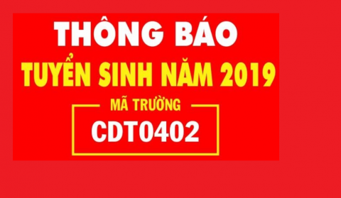 Thông báo tuyển sinh năm 2019
