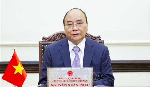 Thư kêu gọi nâng tầm kỹ năng lao động của Chủ tịch nước Nguyễn Xuân Phúc