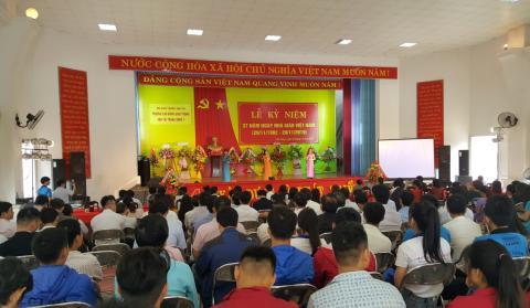 Trường Cao đẳng Giao thông vận tải Trung ương V kỷ niệm 37 năm ngày Nhà giáo Việt Nam 20/11/2019