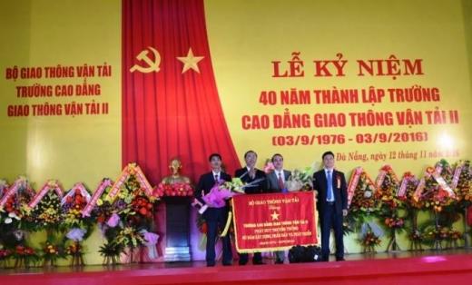 Cảm xúc về lễ kỷ niệm 40 năm thành lập trường
