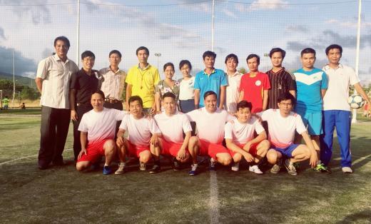 Giải bóng đá truyền thống mini nam CCVCNLĐ Trường Cao đẳng GTVT TW V năm 2018